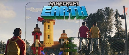 Новая игра — MINECRAFT EARTH